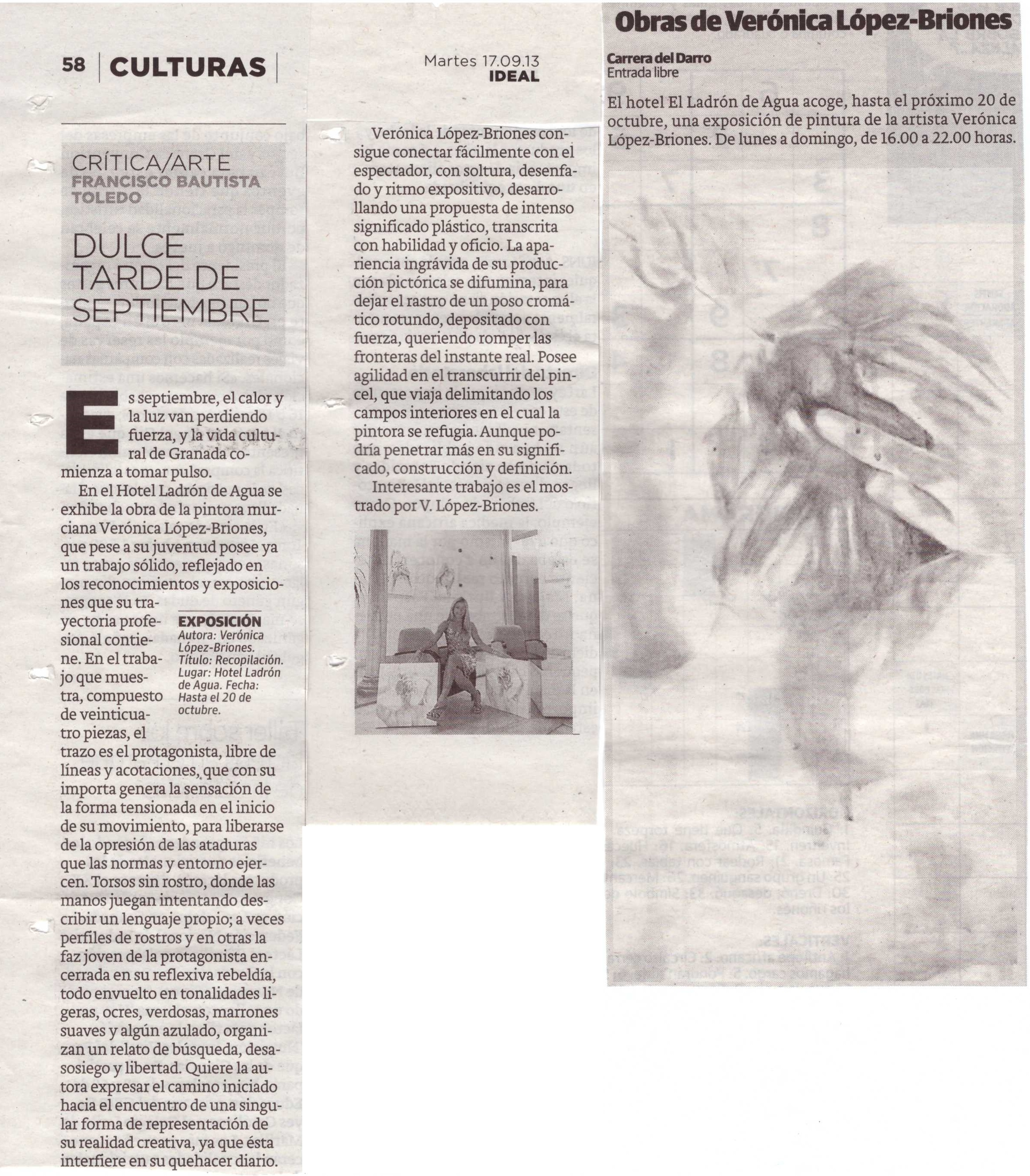 Art review of Exhibition by Verónica López Briones